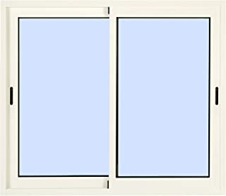 Ventana de Aluminio Corredera 1000 ancho x 600 alto 2 hojas