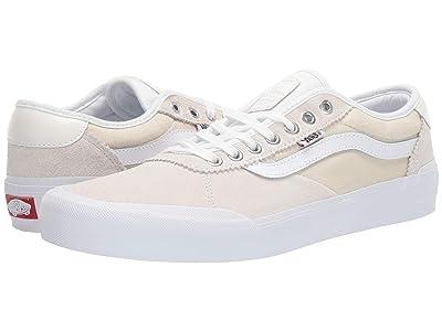 Vans Chima Pro 2 (White/White) Skate Shoes