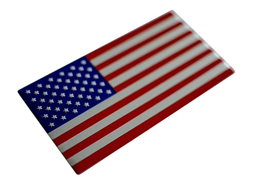 Riley Express American Flag Car Stickers (American Flag Sticker (Huge 5