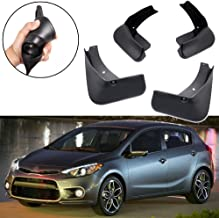 SPEEDLONG 4Pcs Car Mud Flaps Splash Guard Fender Mudguard for KIA Forte 5-Door 2014 2015 2016