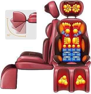 AA100 Cojín de Masaje masajeador eléctrico Puede Ajustar la Cintura de la Columna Cervical Regalo Multifuncional de Cuerpo Masaje eléctrico/Ancianos discapacitados (80w)