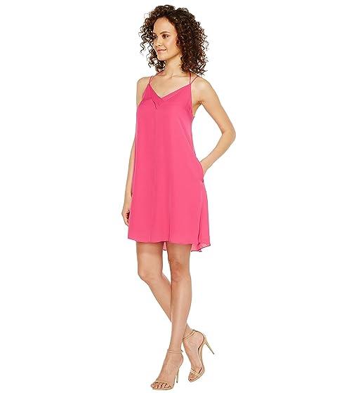 Swing Sophia Spaghetti Silk HEATHER Dress Zwq0da0t