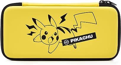 Hori Pikachu Emboss Case - Officially Licensed By Nintendo & Pokemon - Nintendo Switch