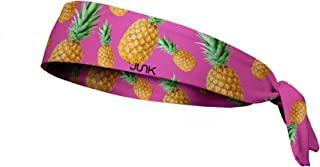 JUNK Brands Tropicana Flex Tie Headband,  Pink,  One Size