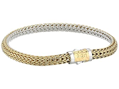 John Hardy Classic Chain Extra Small Reversible Bracelet 5 mm. (Gold/Silver) Bracelet