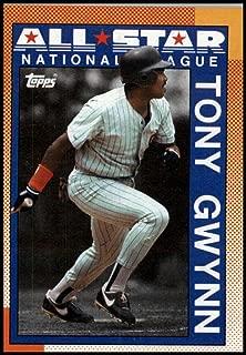 Baseball MLB 1990 Topps #403 Tony Gwynn #403 AS NM Padres