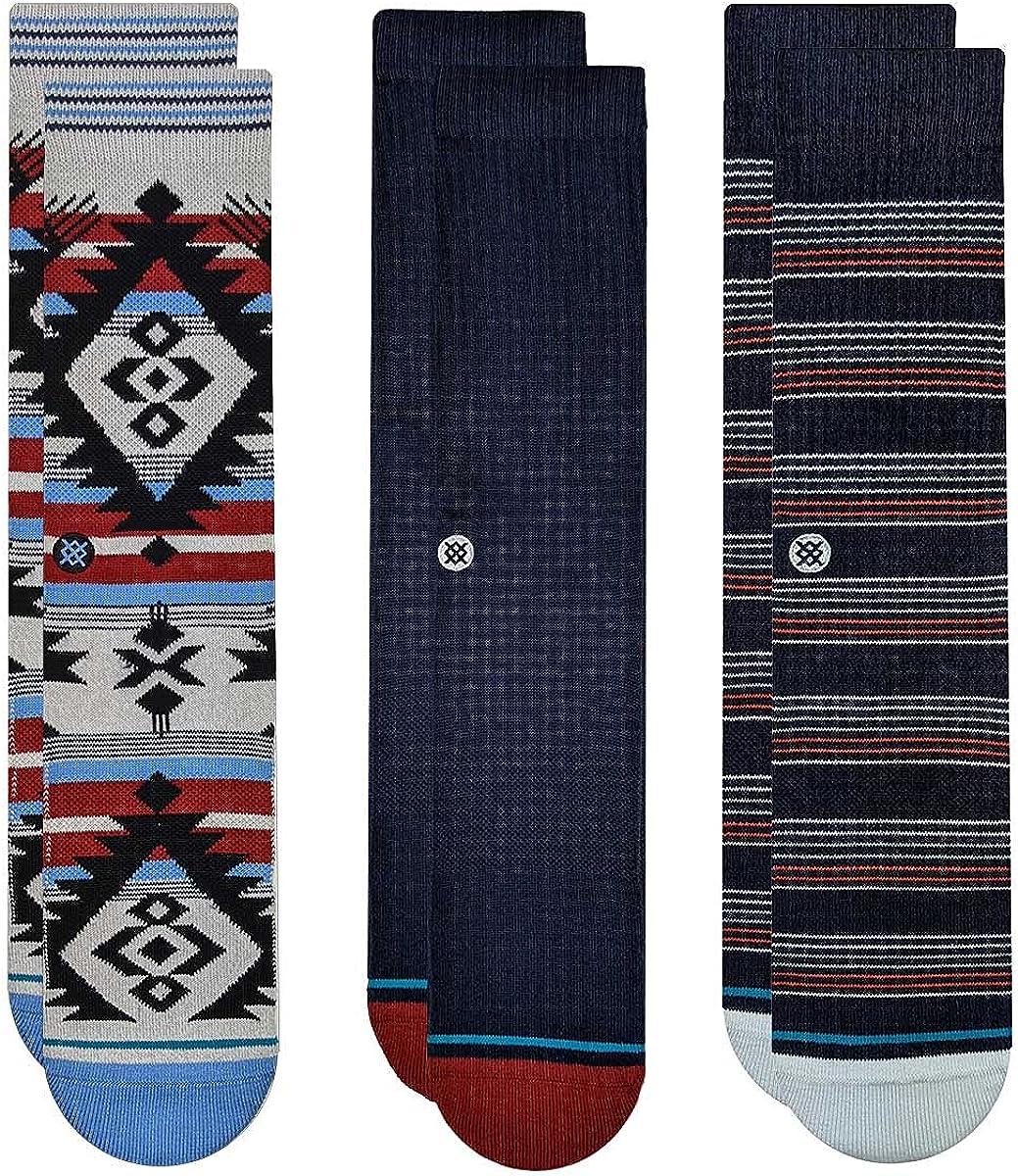 STANCE Men's Mirage Socks 3 Pack