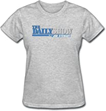JXK Women's The Daily Show Logo T-shirt
