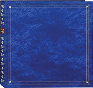 Pioneer MP-300/RB Photo Albums 300-Pocket Post Bound Leatherette Cover Photo Album for 3.5 by 5.25-Inch Prints, Royal Blue