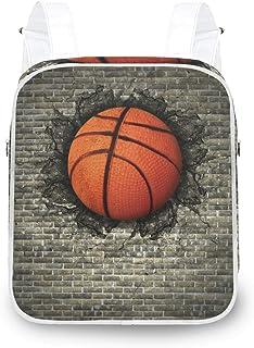 LUPINZ - Mochila de baloncesto con pared de ladrillo, resistente