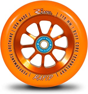 River Rapid Wheel 110mm Orange (Pair)