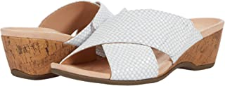 Vionic Women's Paradise Leticia Wedge Sandals - Ladies Walking Sandal with Concealed Orthotic Arch Support