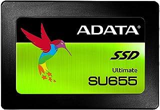 ADATA SU655 120GB 3D NAND 2.5 inch SATA III High Speed Read up to 520MB/s Internal SSD (ASU655SS-120GT-C)