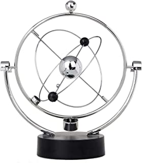 ThinkTop Educational Physics Mechanics Science Toy Kinetic Art Milky Way Orbital Gadget Perpetual Motion Gizmos Home Office Desk Decoration Gift