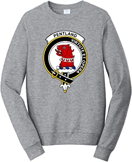 Tenacitee Unisex Scottish Clan Crest Badge Pentland Sweatshirt