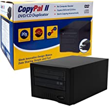 CopyPal Single Target Auto Starter DVD Disc Duplicator D01COPYPALI (Silver/Black)