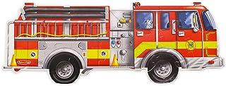 Melissa & Doug Fire Truck Jumbo Jigsaw Floor Puzzle (24 pieces, 4 feet long)