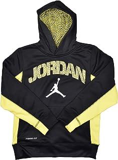 bc07ee6e28 Nike Air Jordan Big Boys (8-20) Therma-Fit Ele Jumpman Hoodie