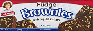 Little Debbie: Fudge Brownies with Walnuts 6/3 Oz. (3 Boxes)