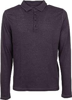 MAJESTIC FILATURES Luxury Fashion Mens M009HPO002370 Purple Polo Shirt | Fall Winter 19