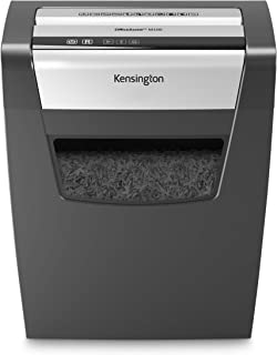 Kensington Shredder - OfficeAssist 10-Sheet Anti-Jam P4 Crosscut Security Shredder (K52075AM)