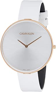 Calvin Klein Full Moon K8Y236L6 Leather Analog Casual Watch for Women