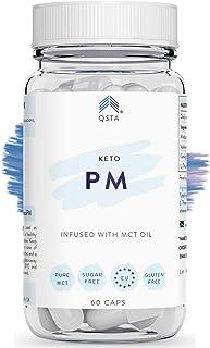 Keto Plus Actives PM (60 CAPS) - Quemagrasas potente para adelgazar y rapido. Quema grasas mientras duermes & Mejora tu sueño REM - Fat Burner Reductor. Kit Completo Dieta. PERSONALIZADO + MEDICOS