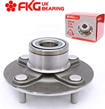 FKG 512303 Rear Wheel Bearing Hub Assembly fit for 2000-2006 Nissan Sentra, 4 Lugs