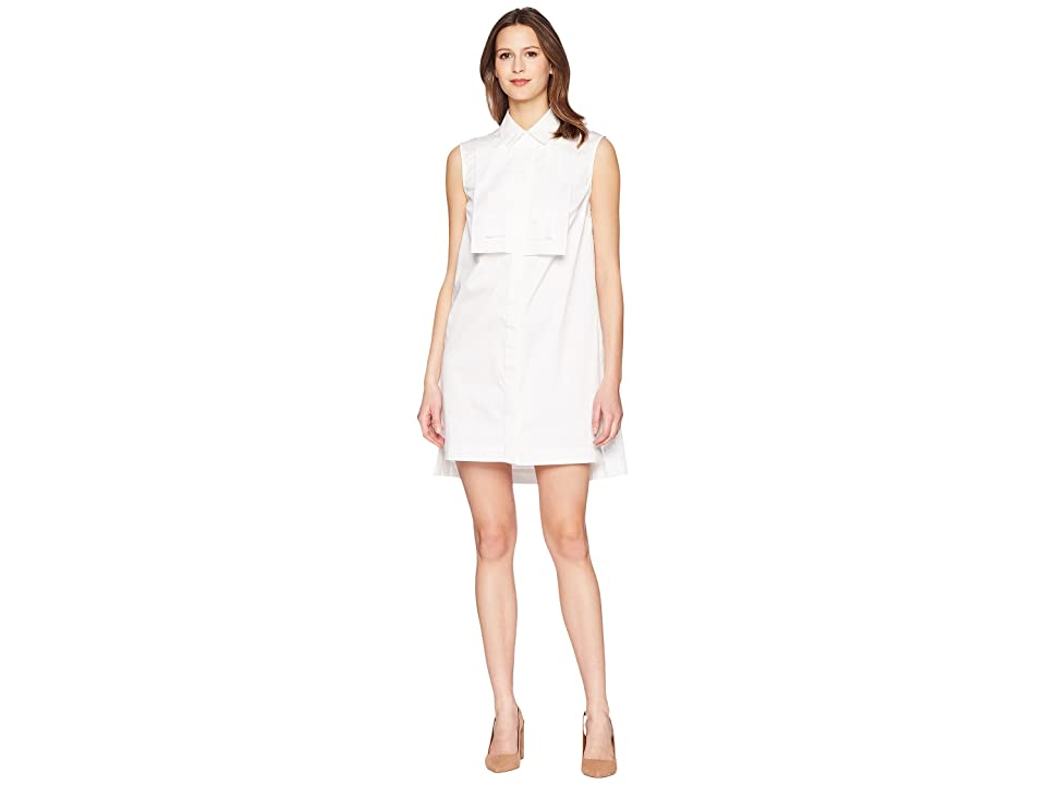 ZAC Zac Posen Grant Dress (White) Women