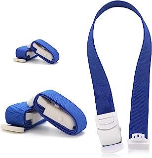 Medicook Tourniquet, 5-Pack Blue Emergency Professional Adjustable Elastic Medical Hemostatic Blood First Aid Quick Releas...
