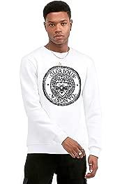 Glorious Gangsta Kazah White Stretch Script T-shirt