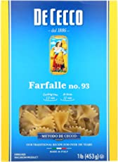 DeCecco Pasta Farfalle 16.0 OZ(Pack of 12)