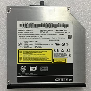 for Lenovo ThinkPad W540 W541 Workstation T540P T440P T430S T420S T410S T410 Laptop 8X DVD+-R//RW Writer Optical Drive Replacement Dual Layer 6X 3D BD-RE DL Blu-ray M-Disc Burner Player