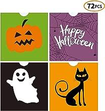 iFUNow 72 Pack Halloween Bags Bulk for Halloween Goodie Bags, Halloween Candy Bags, Halloween Treat Bags, Halloween Trick or Treat Bags, Halloween Party Favors Bags, Halloween Goody Bags
