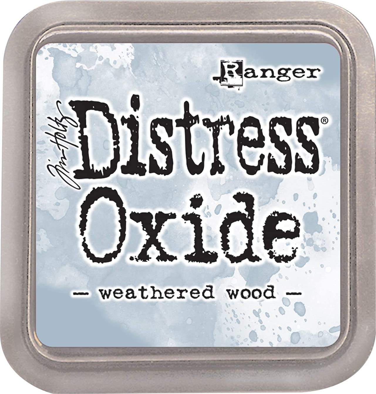 Ranger TDO-56331 Tim Holtz Distress Oxides Ink Pad-Weathered Wood,