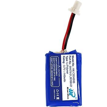 Amazon Com Plantronics Cs540 C054 Replacement Battery 84479 01 86180 01 Battery For Plantronics Cs540 C054 Headset Home Audio Theater