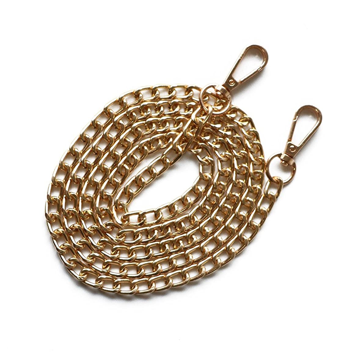 YEJI 9MM Width Iron Flat gold Chain Strap Handbags Replacement Chains for Clutch Satchel