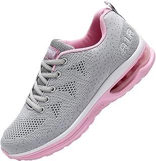 Womens Fashion Tennis Walking Shoes Sport Air Fitness Gym Jogging Running Sneakers (US5.5-10 B(M)
