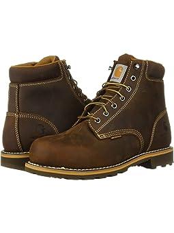 Carhartt 6 Plain Toe Waterproof Soft Toe Boot