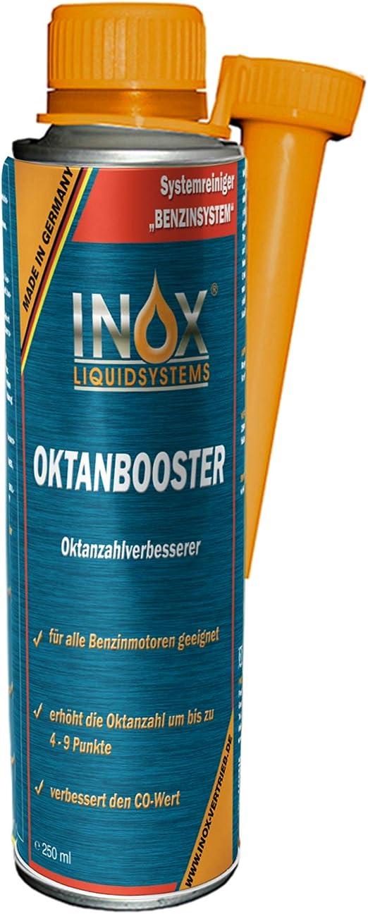 Inox Oktanbooster Benzin Additiv 250ml Erhöht Oktanzahl Motorleistung Und Reduziert Den Kraftstoffverbrauch Auto