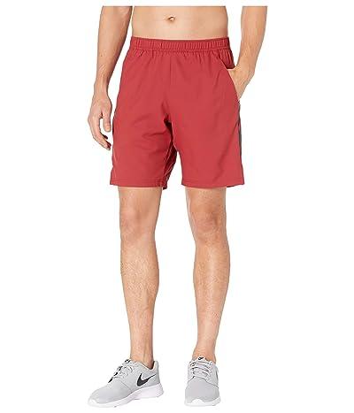 Nike NikeCourt Dry Shorts 9 (Team Crimson/Black/Black) Men