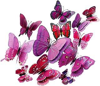 TGG 805 Lot de 10 Papillons Mix avec Clip 2 g Champagne m Argent/é