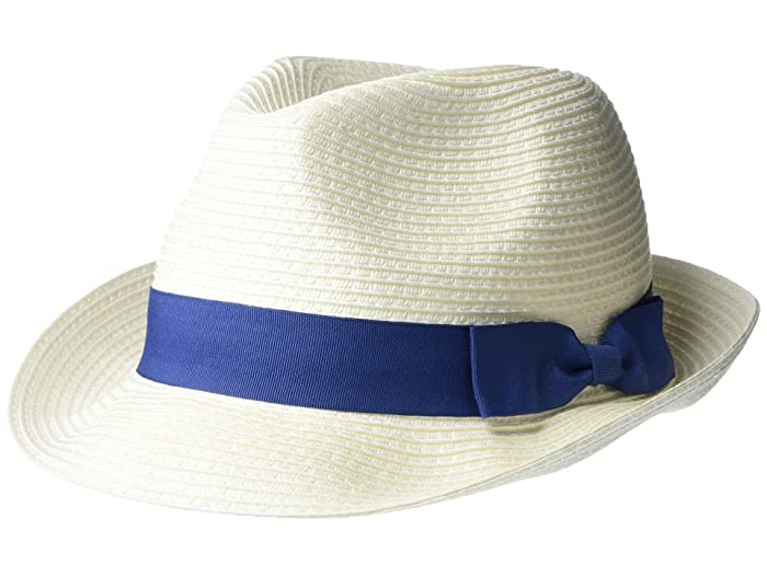 Appaman Kids  Day Party Fedora (Little Kids) (White) Fedora Hats