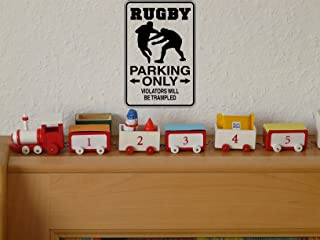 Rugby Sign Vinyl Wall Decal