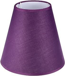 """sourcing map Lampe abat-jour 4,2x7,9x7"""" Couverture Ombre violet"""