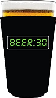 Coolie Junction Beer 30 Funny Pint Glass Coolie Black