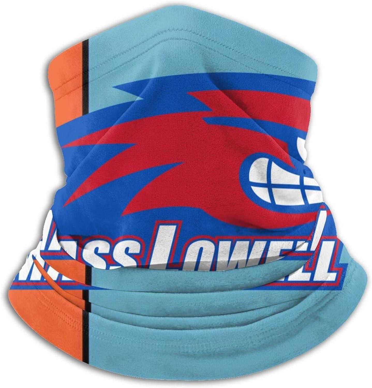 University Of Massachusetts-Lowell Logo Unisex Comfort Microfiber Neck Gaiter Variety Scarf Face Motorcycle Cycling Riding Running Headbands.