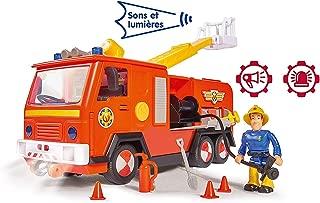Smoby Sam le Bombero - Camión Bombero Jupiter con Sonidos y