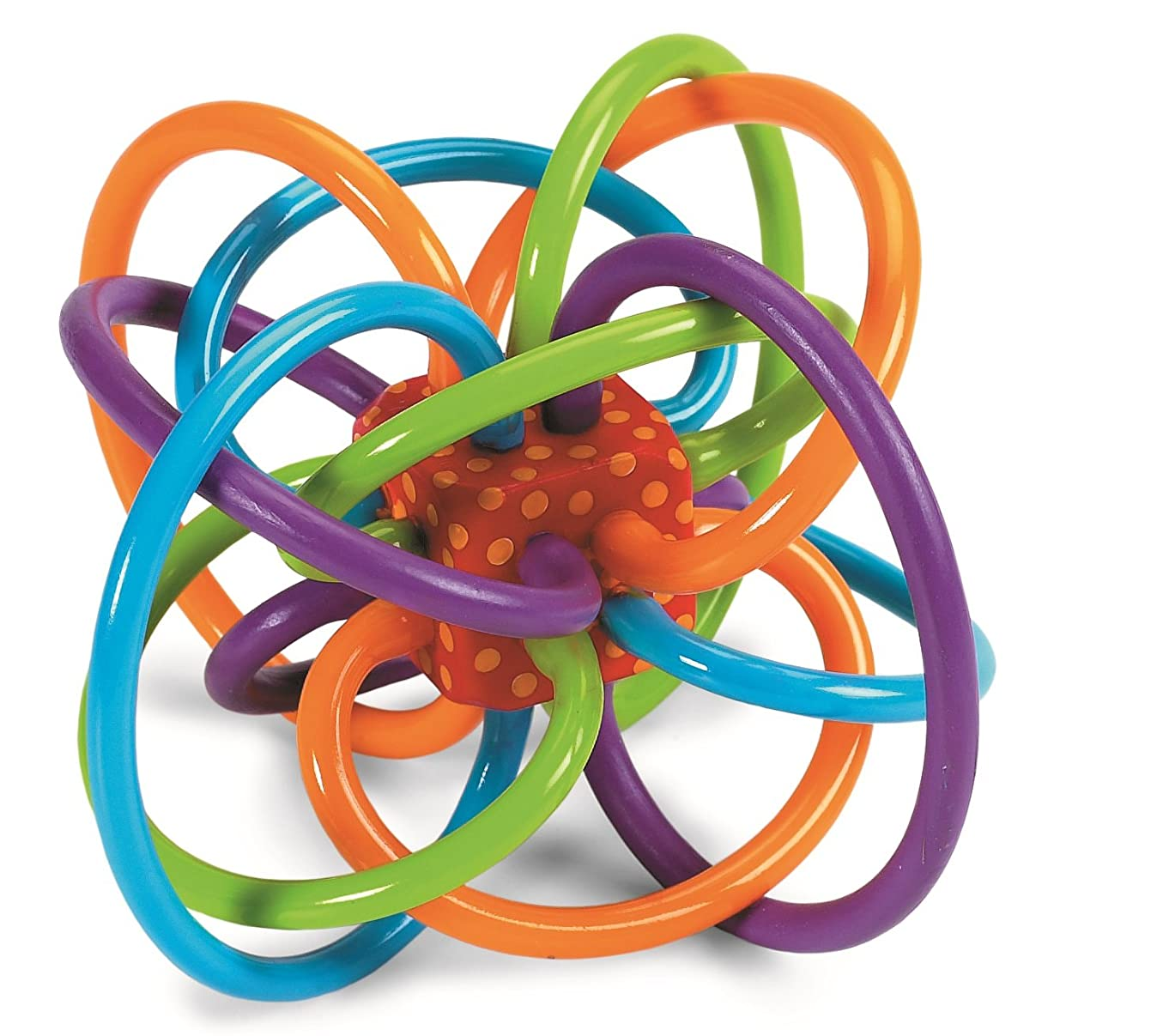 Manhattan Toy Winkel Rattle and Sensory Teether Toy