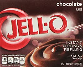 Jell-O Instant Pudding & Pie Filling Chocolate, 5.9 Oz